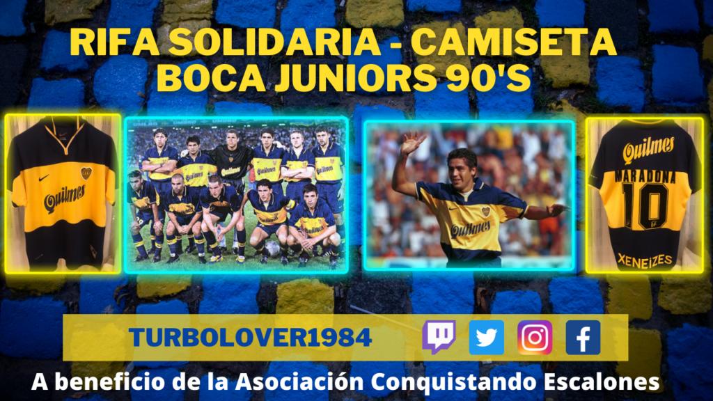 Rifa camiseta Boca Juniors